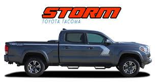2015 2016 2017 2018 Toyota Tacoma STORM TRD Sport Pro Grade Vinyl ...