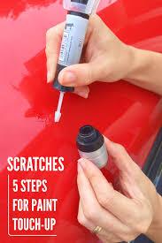 paint scratch solution