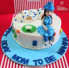 Mom To Be Baby Shower Cake Custom Cakes In Lahore
