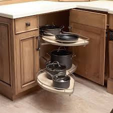 Inside Kitchen Cabinet Storage Kitchen Corner Cabinet With Clever Storage Systems Inside Amaza