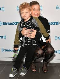 Fergie Takes Son Axl to Set For 'Bring Your Cool Kid to Work Day' |  PEOPLE.com