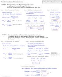 endearing math plane solving rational equations systems of word problems worksheets solving rational equations notes and