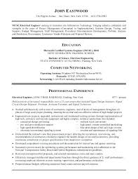 An Example Of A Good Resume Great Resume Examples Good Objectives