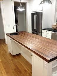 dark wood countertops friendly for kitchens inspiring friendly