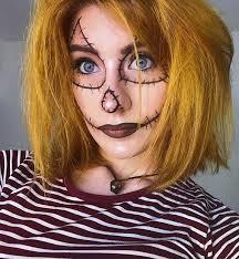 easy scarecrow makeup