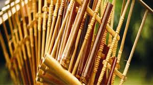 Ilustrasi alat musik tradisional angklung. Fungsi Alat Musik Tradisional Pengertian Dan Jenisnya Hot Liputan6 Com