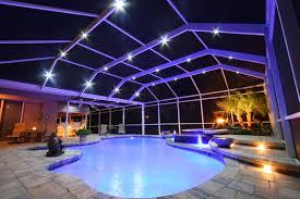 pool lighting ideas. nebula rail light system pool lighting ideas