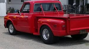 1969 Step Side Chevrolet Pro Street Truck Big Block Stroked