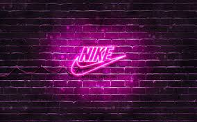 Find the best white nike wallpaper on getwallpapers. Download Wallpapers Nike Purple Logo 4k Purple Brickwall Nike Logo Sports Brands Nike Neon Logo Nike For Desktop Free Pictures For Desktop Free