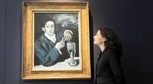 Resultado de imagen de Picasso painting fetches record price at Christie's