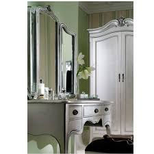 Silver Leaf Bedroom Furniture French Style Furniture Sophia Silver Leaf 2 Door Wardrobe