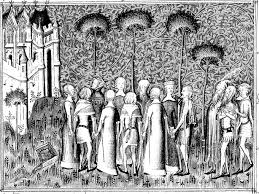 Free Coloring Page Coloring Adult Medieval