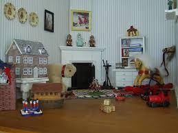 Dolls Houses And Minis Edwardian Dolls House The Nurseries - Dolls house interior