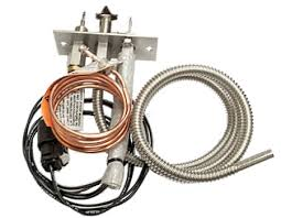hwi hot wire ignition pilot light assembly for hpc gas fire pits