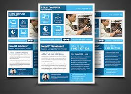 mobile repair flyer photos graphics fonts themes templates computer repair service flyer templa