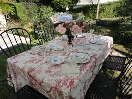 Table Setting In French Mixing Herend For A Garden Table Setting
