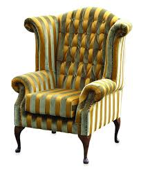 endearing queen anne recliner wing chair with furnitures queen anne wingback chair fabric upholstered with