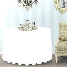 round tablecloth inch in white with wall decor also 90 x 108 black i inch round tablecloth