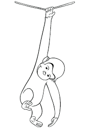 curious george coloring page free printable curious coloring pages curious george coloring pages games