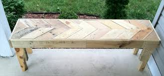 ... DIY Chevron Pallet Bench 99 Pallets Photo Details - From these image we  provide to show