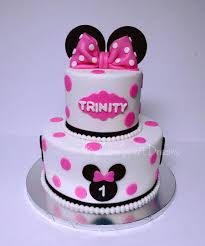 Birthday Party Minnie Mouse 1st Cake First Walmart Supplies