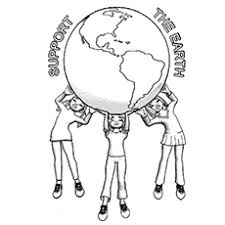 Earth Coloring Sheet Chronicles Network