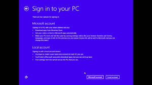 Setup Microsoft Skip Screen Account - On Youtube 8 Windows