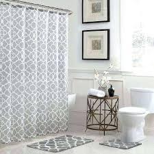 excellent bathtub shower curtains geometric in x in bath rug and in x tub shower curtain