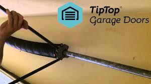 installing garage door torsion spring