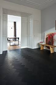 Dark wood floors Wide Plank Black Patterned Hardwood Floor For An Entryway Decoist Dark Floors Types And 26 Ideas To Pull Them Off Digsdigs