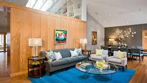 minneapolis furniture repair living room modern with side table metal wall art blue rug