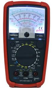 Tekpower Tp7244l 7 Function 20 Range Analog Multimeter With Back Light With Strong Protective Holster
