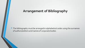 Writing A Bibliography Ppt Video Online Download