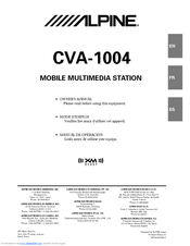 alpine cva 1004 owner's manual pdf download Alpine 2 Channel Amp Wire Diagram at Alpine Cva 1004 Wiring Diagram