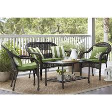 lowes dining table outdoor. garden treasures severson 4-piece conversation set at lowe\u0027s canada lowes dining table outdoor