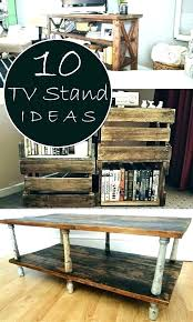 diy rustic tv stand plans white unique ideas free with barn doors industrial stands diy rustic tv stand