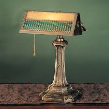 meyda 31300 gothic bankers lamp