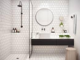 Bygg hyllnischer i badrummet! White Tile BathroomsBathroom ...