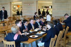 middle school lunch table. Brilliant Table With Ties Flipped Back Middle School Boys Enjoy Great Lunch Choices In Lunch Table E