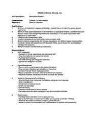director job description executive director job description casa of denton county