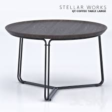 table works 3d models table stellar works qt coffee table small large