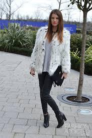asos leopard fur coat