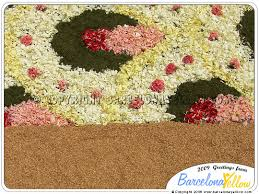 sitges corpus cristi flower carpet festival