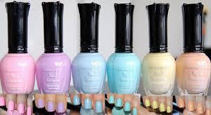 Amazon.com : Kleancolor Nail Lacquers 6 Color - *NEW* Pastel ...