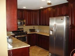 Kitchen Recessed Lighting U Shaped Kitchen With Recessed Lighting In White Ceiling With Wall