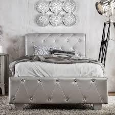 black upholstered sleigh bed. Vivianne Upholstered Sleigh Bed Black S