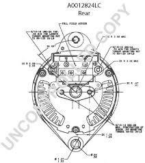 alternators 270 2824l leece neville 160a 12v irif j180 duvac product diagram