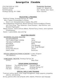 Example Dance Resume Example Of Dance Resume Example Of Dance Resume ...