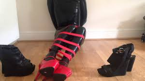 Youtube high boots bondage