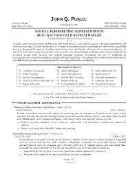 Sample Car Salesman Resumes Car Sales Resume Car Salesman Resumes Salesperson Resume Example